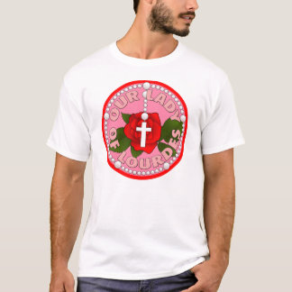 Rosary Our Lady of Lourdes T-Shirt