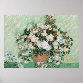 Rosas, 1890 (aceite en lona) póster