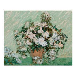 Rosas 1890 aceite en lona