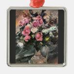 Rosas 1 de Lovis Corinto Ornaments Para Arbol De Navidad