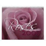 Rosas 2009 calendarios