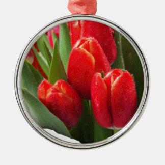 rosas 4 de la tarjeta del día de San Valentín Adorno De Reyes