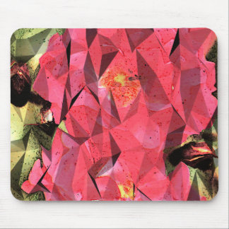 Rosas abstractos cubistas mousepads
