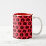 Rosas adaptables taza de café