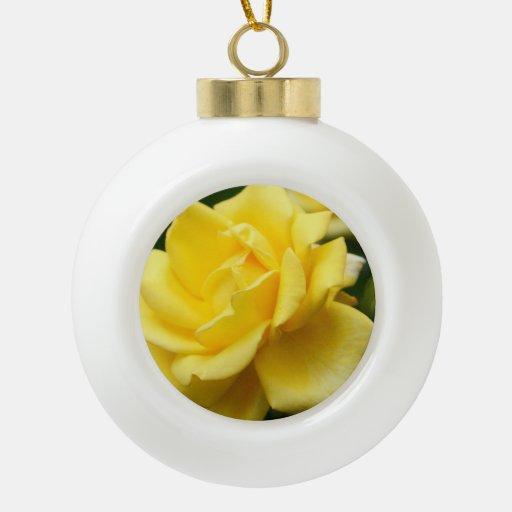 Rosas Adorno De Cerámica En Forma De Bola