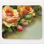Rosas amarillos alfombrilla de raton