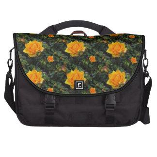 Rosas amarillos bolsas para portatil
