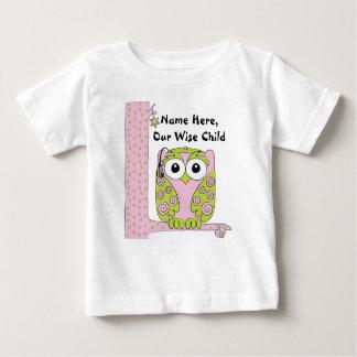"""Rosas bebés del Passover/camisa verde """"el niño Camisas"""