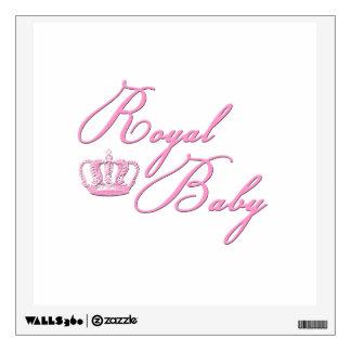 Rosas bebés reales con la corona