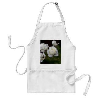 Rosas blancos delantales