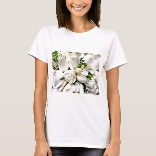 Rosas blancos, para cualquier occasion_ playera