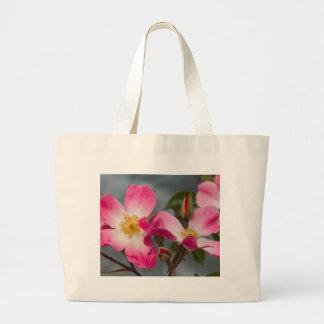 rosas bolsas de mano