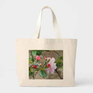 rosas bolsa de mano