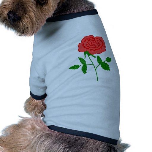 rosas camisetas mascota