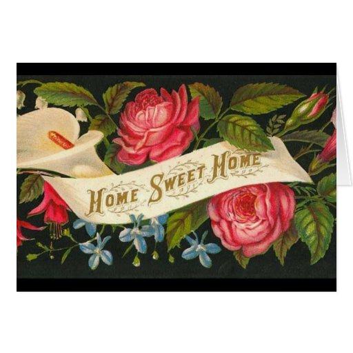 Rosas caseros dulces caseros del Victorian Tarjetas