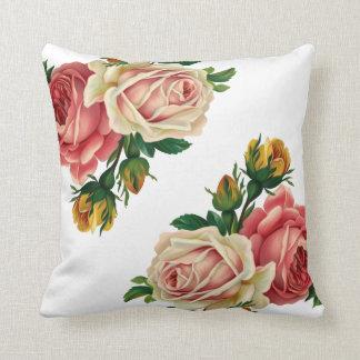 Rosas Cojín Decorativo