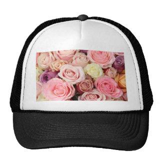 Rosas coloreados polvo por Therosegarden Gorro