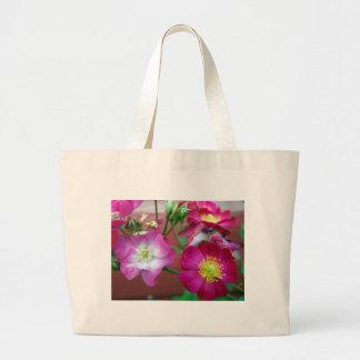 rosas de bebé salvajes bolsa de mano