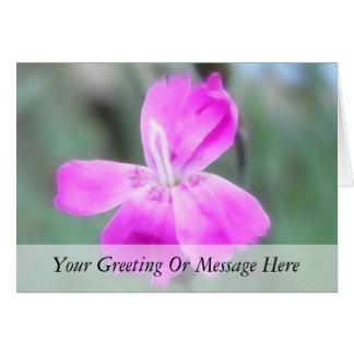 Rosas de jardín fragantes tarjeta de felicitación