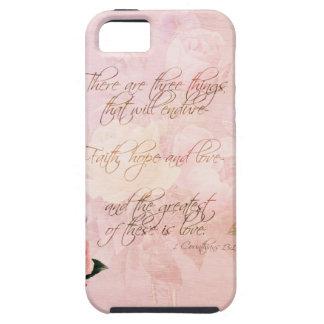 Rosas de la esperanza y del amor de la fe iPhone 5 Case-Mate fundas