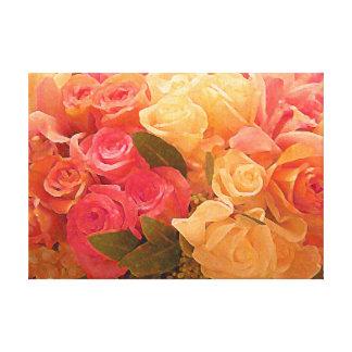 Rosas de la impresión love_Stretched de la lona Impresiones De Lienzo