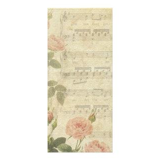 Rosas de la música del Victorian que casan program Lona Publicitaria