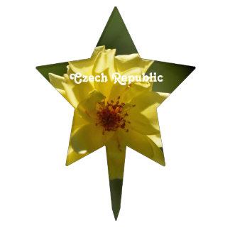 Rosas de la República Checa Decoración Para Tarta