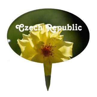 Rosas de la República Checa Figura De Tarta