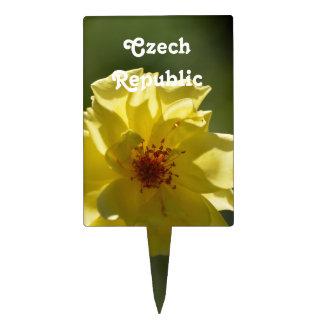 Rosas de la República Checa Decoración De Tarta