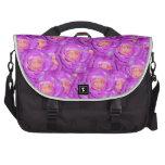 Rosas de las rosas fuertes bolsas de portatil
