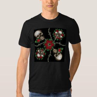 Rosas de los cráneos n poleras