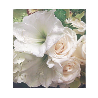 Rosas de los lirios del amor de Life_ Blocs De Notas
