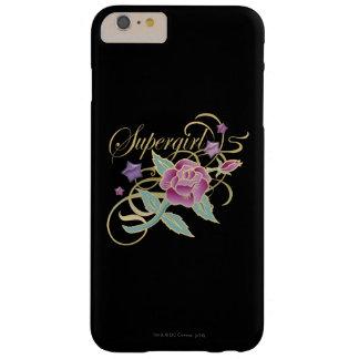 Rosas de lujo de Supergirl Funda Para iPhone 6 Plus Barely There