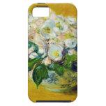 Rosas de navidad - Claude Monet iPhone 5 Case-Mate Carcasas