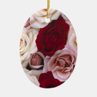 Rosas de navidad ornamento para reyes magos