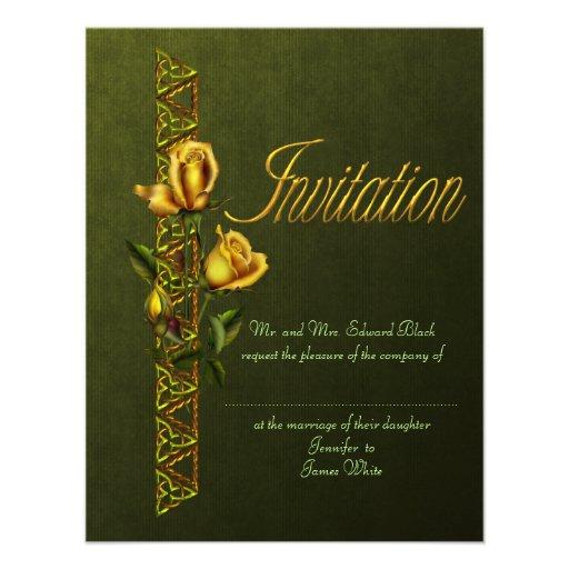 Rosas de oro que casan la habitación