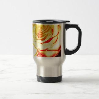 Rosas de oro taza de café
