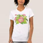 rosas de perro camisetas