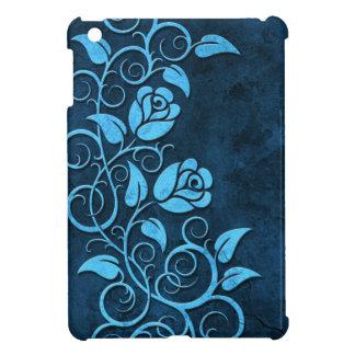 Rosas de piedra que remolinan, azules iPad mini coberturas