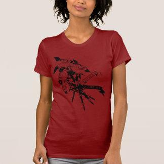 Rosas de Rozie llenos Camisetas