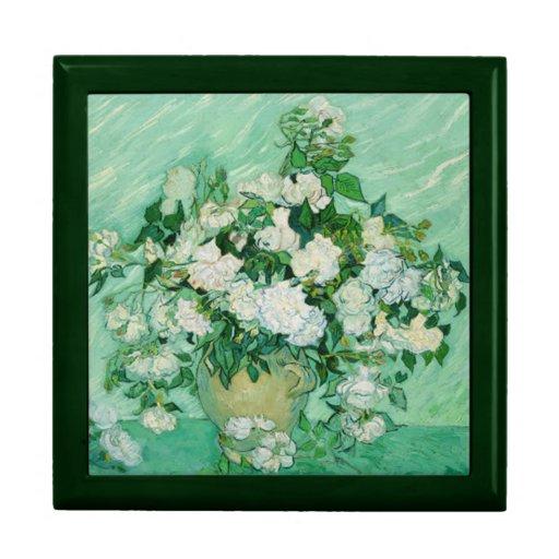 Rosas de Vincent van Gogh Cajas De Regalo