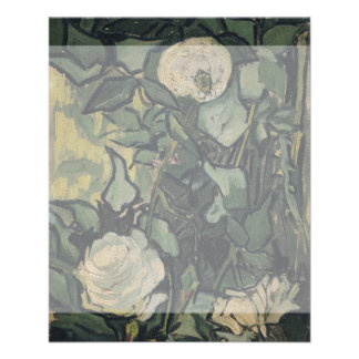 Rosas de Vincent van Gogh Tarjetas Publicitarias