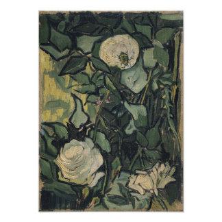 Rosas de Vincent van Gogh Arte Fotografico