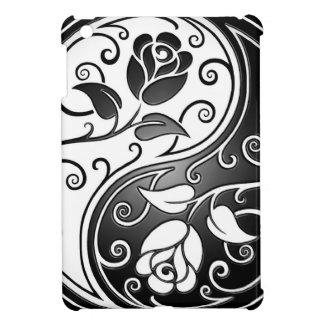 Rosas de Yin Yang iPad Mini Coberturas