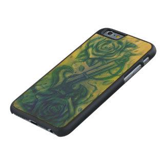 rosas del ancla funda de iPhone 6 carved® slim de arce