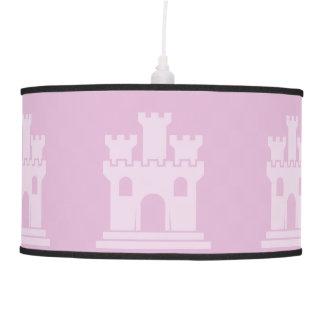Rosas del castillo lámpara de techo