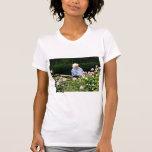Rosas del corte de la abuela camisetas
