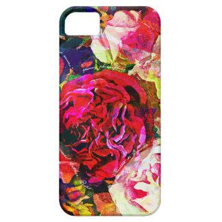'Rosas del frunce iPhone 5 Case-Mate Coberturas