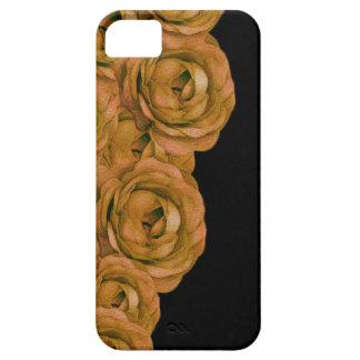 Rosas del tono de la tierra funda para iPhone SE/5/5s