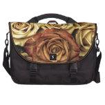 rosas del vintage bolsas de portatil
